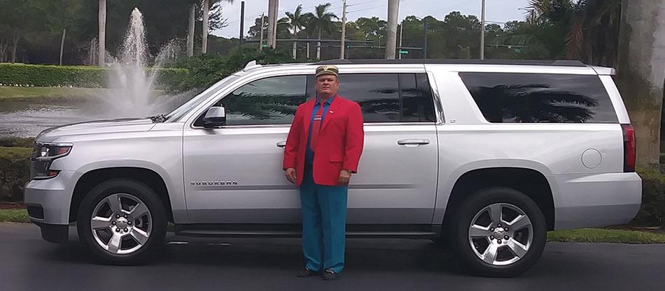 Chevy Suburban (8 Passengers)