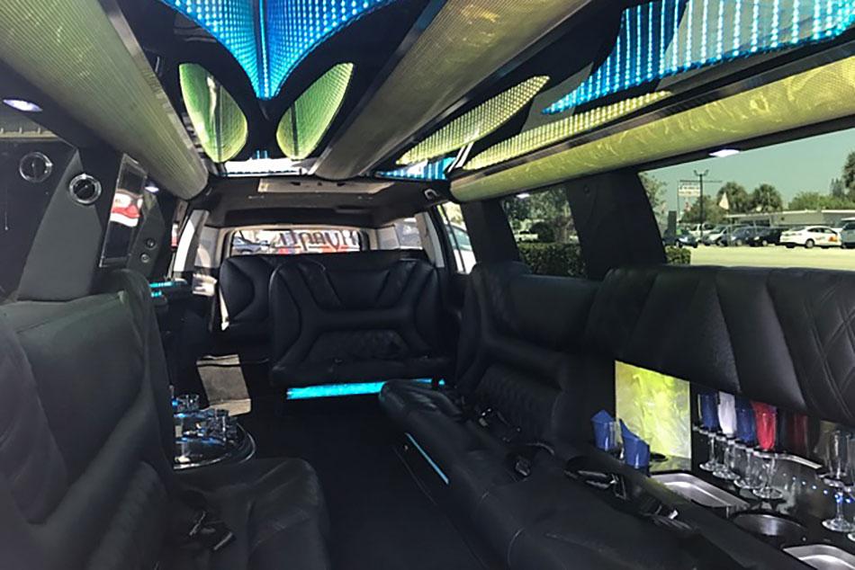 Cadillac Escalade Limousine Interior